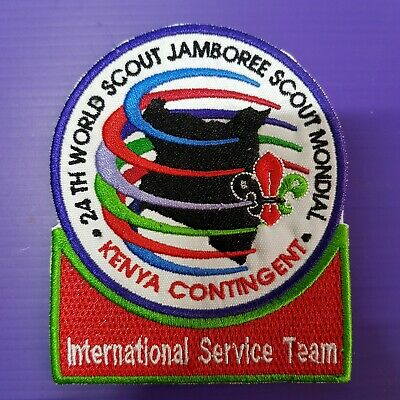 24th World Scout Jamboree 2019 Contingent Official PATCH KENYA IST  WSJ BADGE