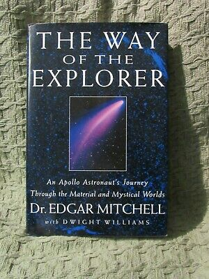 Apollo 14 astronaut ED MITCHELL signed book Way of the Explorer