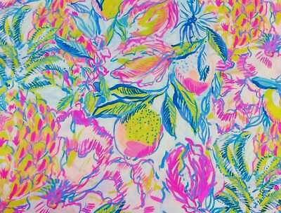 Special Offer 2 Yards La Fiesta Bombe Lilly Pulitzer Cotton Dobby Fabric