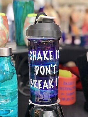 Custom Hand Painted Shaker Bottle