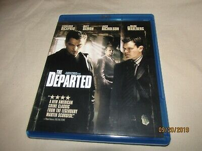 The Departed (Blu-ray Disc, 2007) Pre-Owned