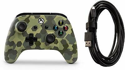 Wired Officially Licensed Controller For Xbox One S Xbox One X Windows 10 Blue X