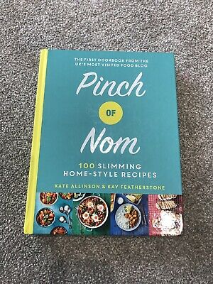 Pinch of Nom Cook Book - Slimming Weight Loss Recipe Book - Hardback Used