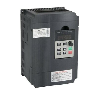 Variable Frequency Drive, Vfd Inverter Frequency Converter 2.2Kw 3Hp 220V 1 V1E7