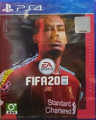 FIFA 20 [Champions Edition] Asia Chinese/English subtitle PS4 BRAND NEW