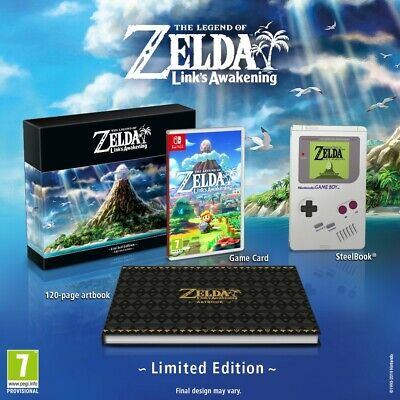 The Legend of Zelda: Link's Awakening Limited Edition Nintendo Switch BRAND NEW