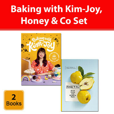 Baking with Kim-Joy and Honey & Co: Food from the Middle East 2 Books Set Pack