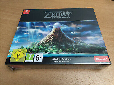 The Legend of Zelda: Link's Awakening Limited Edition SWITCH - NEW ENG - RARE !!