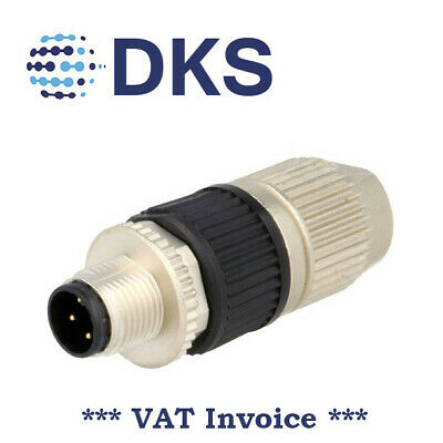 Harting 21032121305 Cable Plug M12 4P Male HARAX A Coded DeviceNet 001475