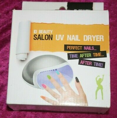 I.D Salon, Battery Operated U.V Nail Dryer, Great For Travelling.