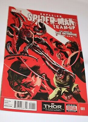 Superior Spider-Man Team Up #1 #4 #7 + part 3 of Arms Of The Octopus