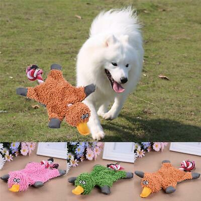 Pet Dog Puppy Chew Toy Squeaker Squeaky Soft Plush Play Sound Toy Fetch Training