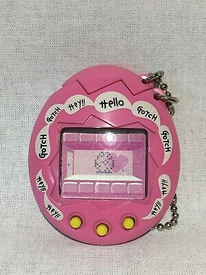 Original Bandai Tamagotchi Virtual Pet 1997 Mesutchi Pink Linkup Play Japan Only