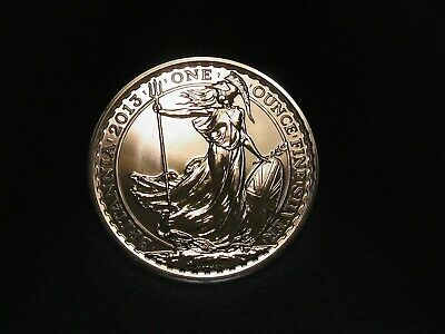 1 OZ SILVER COIN 999 - Britannia - Rare - 1st issue in 999