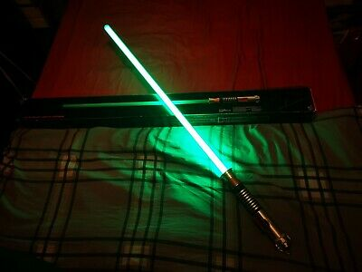 2015 Hasbro Star Wars Black Series Light Up Lightsaber Force FX Luke Skywalker