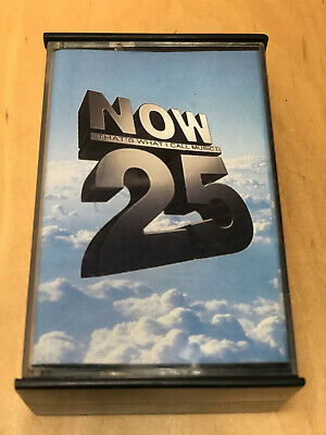 Various Artists - Now That's What I Call Music 25 UK 2 x Cassette Tape Set VG