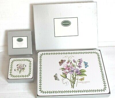 Portmeirion Large Table Mats  & Coasters. (Deluxe Range) New Style Design