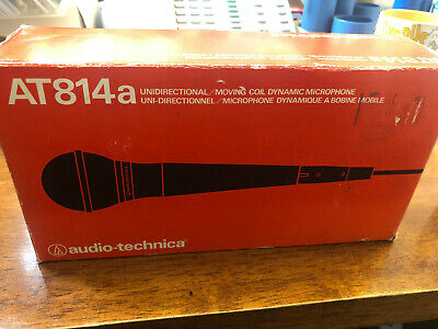 *RARE* Audio-Technica AT814a Dynamic Microphone