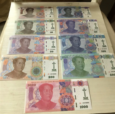 Mandela UNC Gandhi World  papper money 3 Banknotes Che Guevara