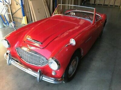 Austin Healey 100-6 3000 BN6 1958 Two Seater Restoration Project / Barn find