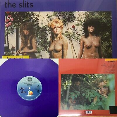 The Slits - Cut Purple Colored Vinyl Edition