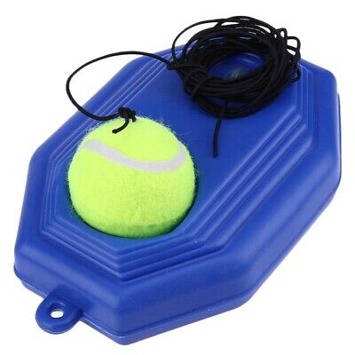 Single Tennis Trainer Self-Study Tennis Training Tool Exercise Tennis Pract M6Z6