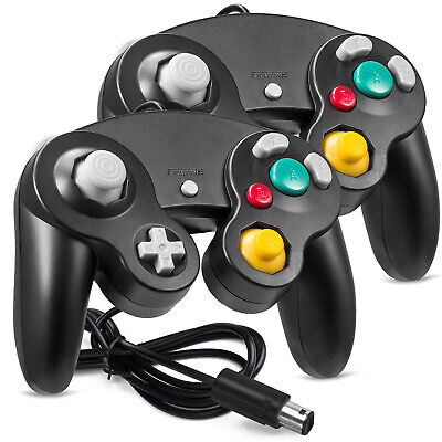 2 Pack Wired NGC Game Controller for Nintendo GC U Video Game Console - US SHIP