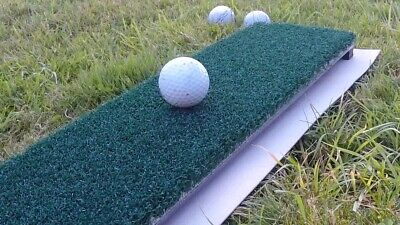 Golf mat Matte ShaftSaver divoting RG Abschlagmatte soft nylon turf portable