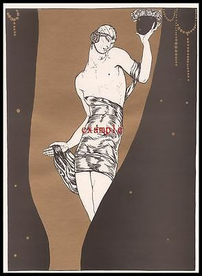 Nijinsky in Scheherszade Ballets Russes Print Reproduction Fine Art Print