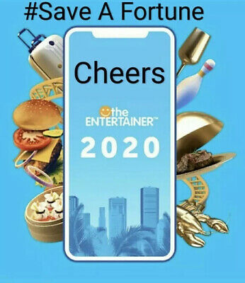 Dubai Entertainer 2019 Rental + Cheers - 7 Days - Used App