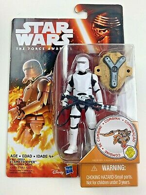 """Star Wars: The Force Awakens 3.75"""" Figure First Order Flametrooper FREE SHIPPING"""