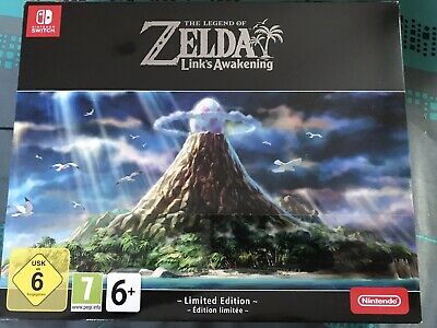 The legend of Zelda Link's awakening - Edition Limitée Collector - Switch - NEUF