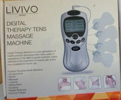 Tens Machine Full Body Massager Digital Therapy Pain Relief Acupuncture Back