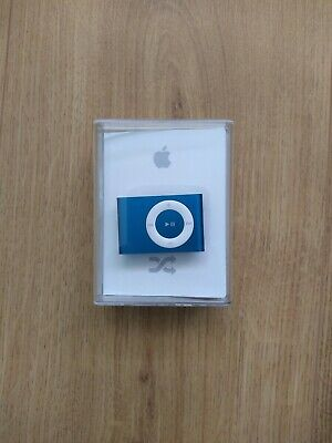 APPLE IPOD SHUFFLE 2nd Generation Blue 1GB with charging dock