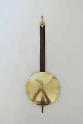Beautiful Oryginal Pendulum For Gustav Becker P48 Clock  !!!