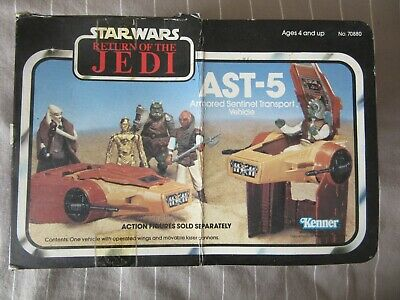 AST-5, Return of The Jedi, Kenner, 1983, Mini Rig, Instructions + Box Insert