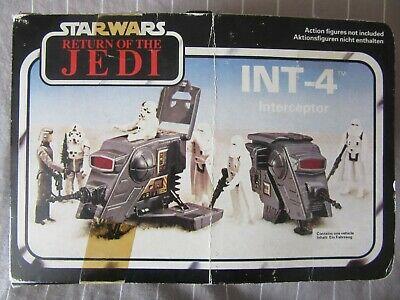 INT-4, Return of The Jedi, Kenner, 1983, Mini Rig, Instructions + Box Insert