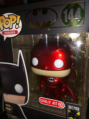 Funko POP! DC Batman RED 80th Anniversary (Target Red Card exclusive) SHIPS FAST