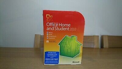 Microsoft Office Home and Student 2010 - Family Pack - 3 user -New and sealed