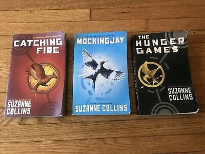 Hunger Games Trilogy BOOK SET 1 2 3 MIXED PAPERBACK SOFTCOVER Suzanne Collins
