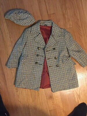Fieldston Clothes Brown Jacket / Coat for Boys And Cap  Kids Size ?