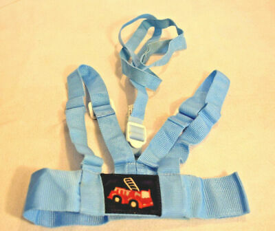 SAFETY FIRST 1st Toddler Harness Tether Attached Leash Independence Travel Blue