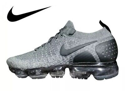 Air Vapormax Flyknit 2.0 Men's Shoes Black/Dark Grey All Sizes