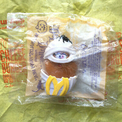 McDonalds Happy Meal Halloween Toy McNugget Buddies Mummie Sealed MIB 1992