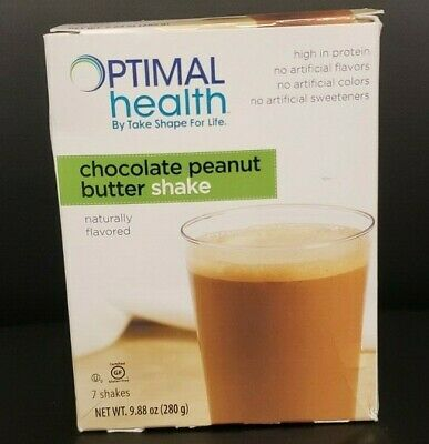 Medifast Optimal Health Chocolate Peanut Butter Shake - 7 Shakes FREE SHIPPING