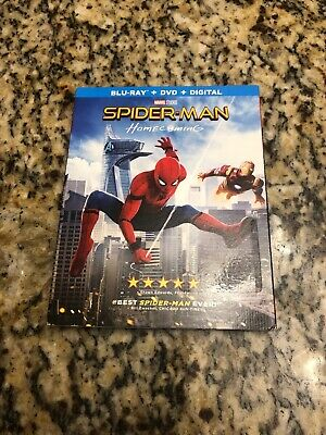 Spider-Man: Homecoming (Blu-ray Disc, 2017, 2-Disc Set )