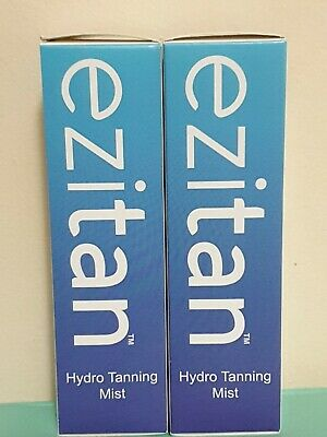 Ezitan Hydro Tanning Mist Face & Body 100ml x 2 DUO new boxed