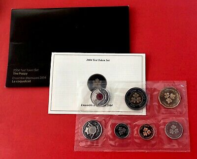 Only 10,000 Minted !!!! 2004 TEST SET WITH POPPY QUARTER