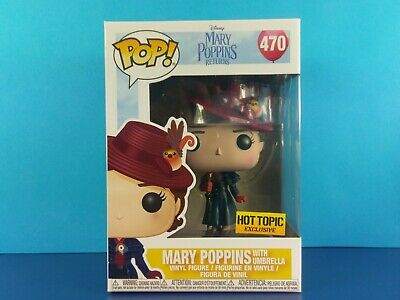 Mary With Umbrella Funko Pop! Hot Topic Exclusive Disney Mary Poppins Returns