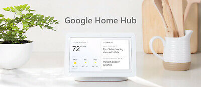 Brand NEW Sealed Google Nest Home Hub Charcoal Smart Assistant Photos GA00515-A